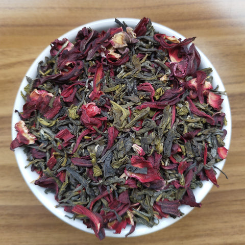 Hibiscus Green Tea - Tropical Delight