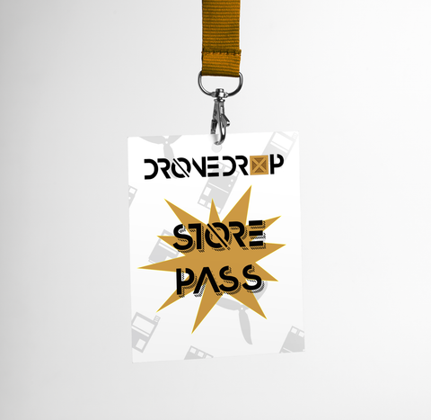 Store Pass-Drone Drop-Drone Drop