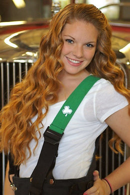 Irish Pride Suspenders by Shamrock