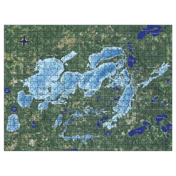 Lake Map Jigsaw Puzzles