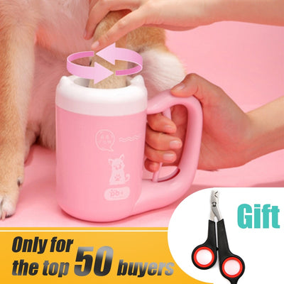 CLEAN PAW (Dogs & Cats) + Free Nail Clippers