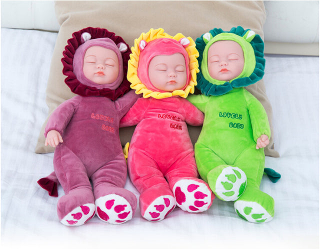18 Inch Plush Stuffed Reborn Doll: 20 STYLES Available - GottaHaveNow.com