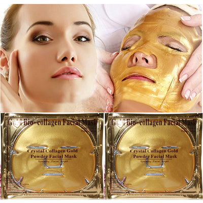 (5 Pack) Gold Bio-Collagen Rejuvenating Gel Mask