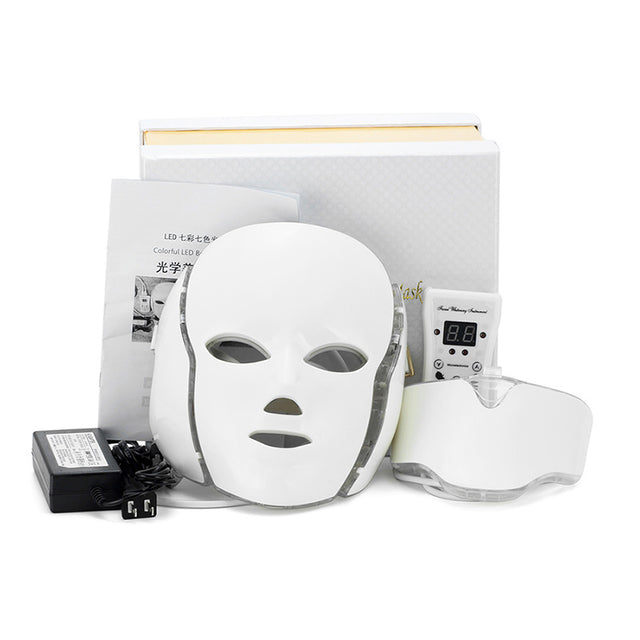 LED Light Therapy Face + Neck Mask - GottaHaveNow.com
