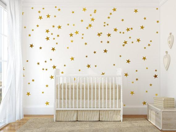 Assorted Sizes Stars Removable Wall Decals - GottaHaveNow.com