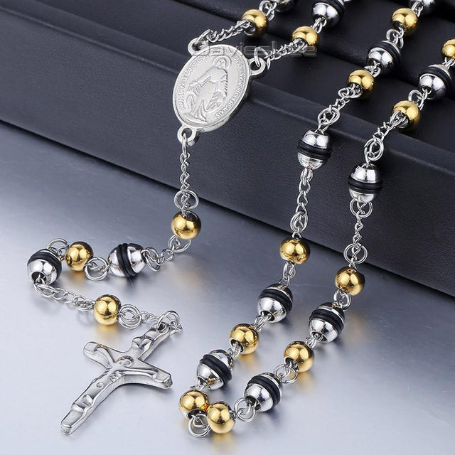 Stainless Steel Cross Necklace - GottaHaveNow.com