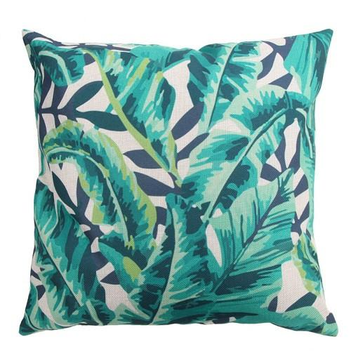 Tropical Leafs Pillow Cover - GottaHaveNow.com