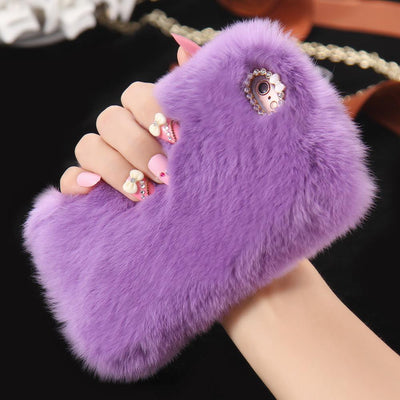 Luxurious Real Fur iPhone Case