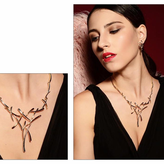 Statement Necklace & Earrings set - GottaHaveNow.com