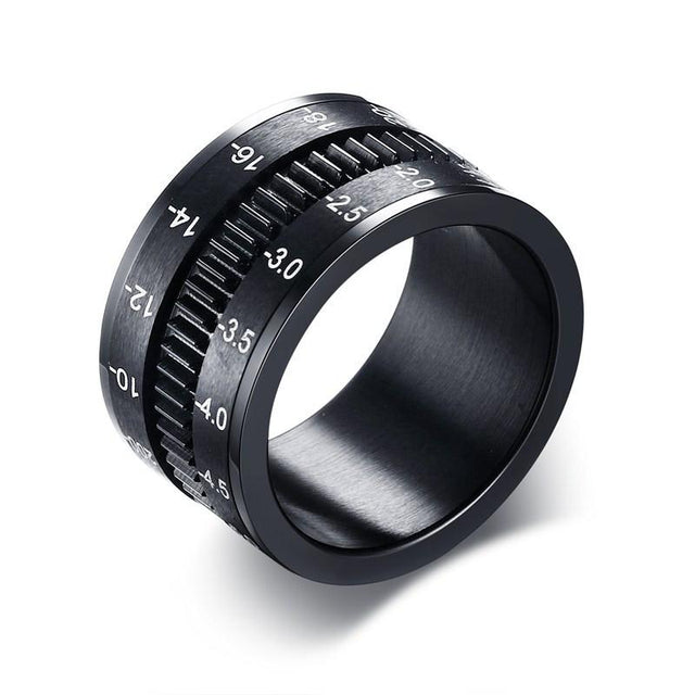 STAINLESS STEEL SLR CAMERA LENS RING - GottaHaveNow.com