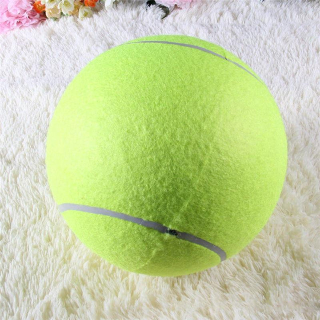 Giant Tennis Ball For Pets - GottaHaveNow.com