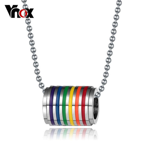 Endless Rainbow Beaded Necklace - GottaHaveNow.com