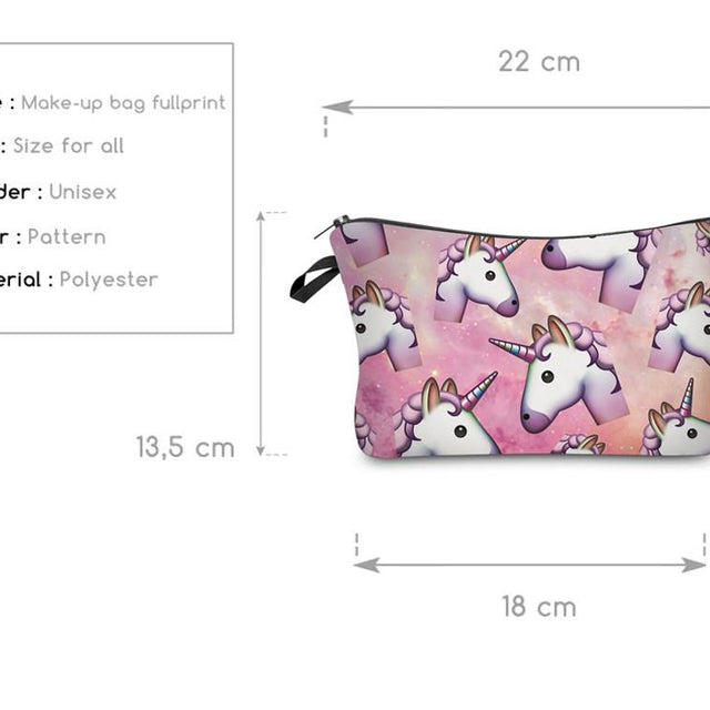 New Unicorn Cosmetics bag - 10 Styles! - GottaHaveNow.com