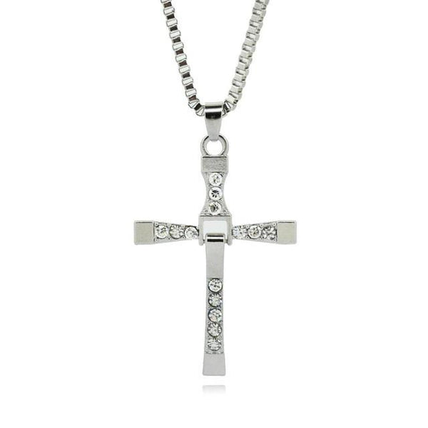 Men's Iced Cross Necklace - GottaHaveNow.com