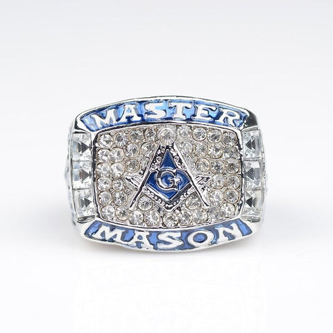 MASTER MASON Blue Champions Ring (BOX Available) - GottaHaveNow.com