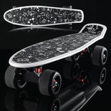 LED Light-Up Wheels Skateboard - GottaHaveNow.com