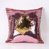 Double Color Sequins Pillow Cover - GottaHaveNow.com