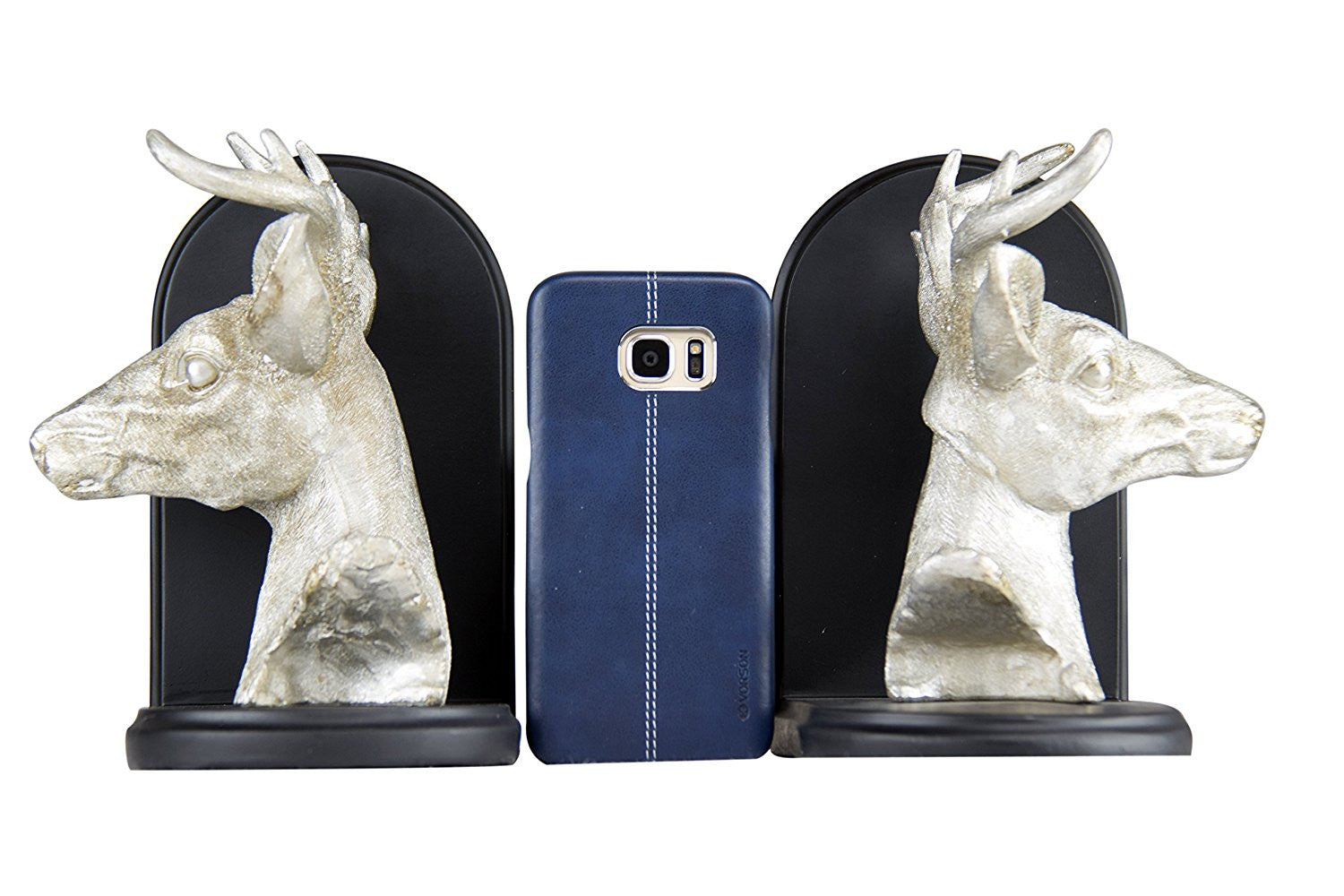 Bookend Deer Bust Book Ends By Oh Trendy