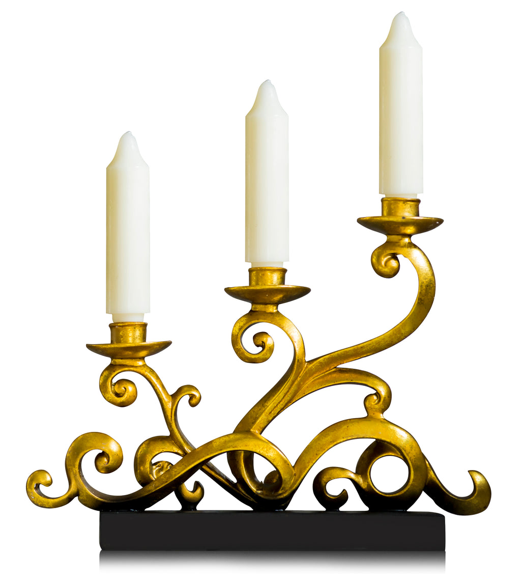 Rococo Antler Candle Holder