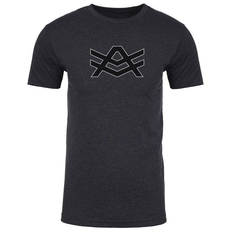 MT6 Dark Grey Fitted T-Shirt Black/White AV Logo