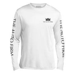 UTL2 White Long Sleeve The Auto Firm Black