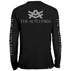 UTL1 Black Long Sleeve The Auto Firm Grey
