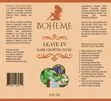 Boheme  Leave In Hair Growth Tonic