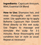 Capsicum Hair Growth Rinse + Hair Growth Leave In Tonic