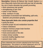 Boheme Hair Growth Supplement