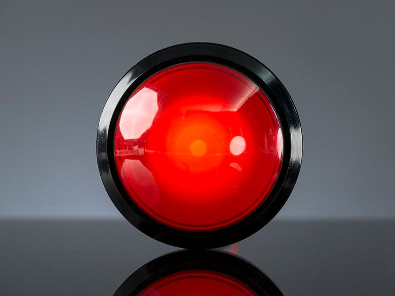 Adafruit Massive Arcade Button with LED - 100mm Red