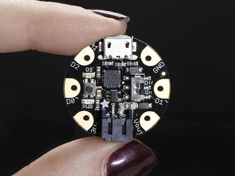 Adafruit GEMMA v2 - Miniature Wearable Electronic Platform