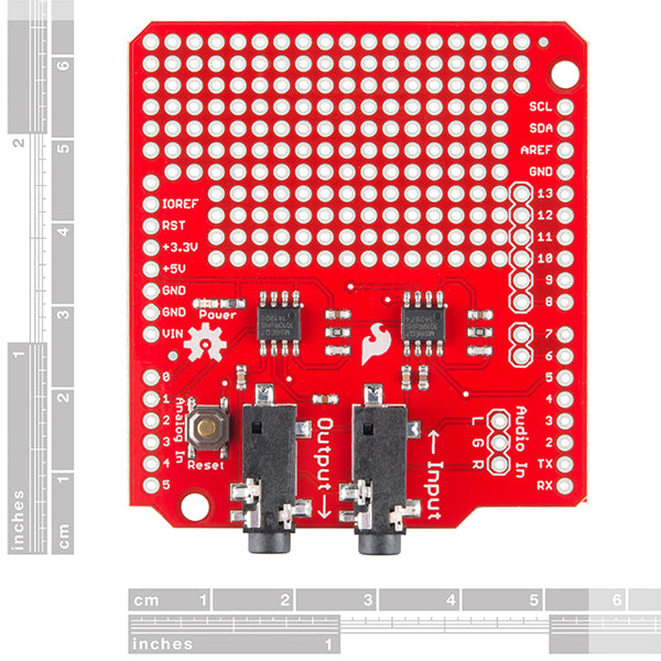 Sparkfun Spectrum Shield
