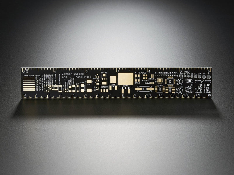 Adafruit PCB Ruler - 6""