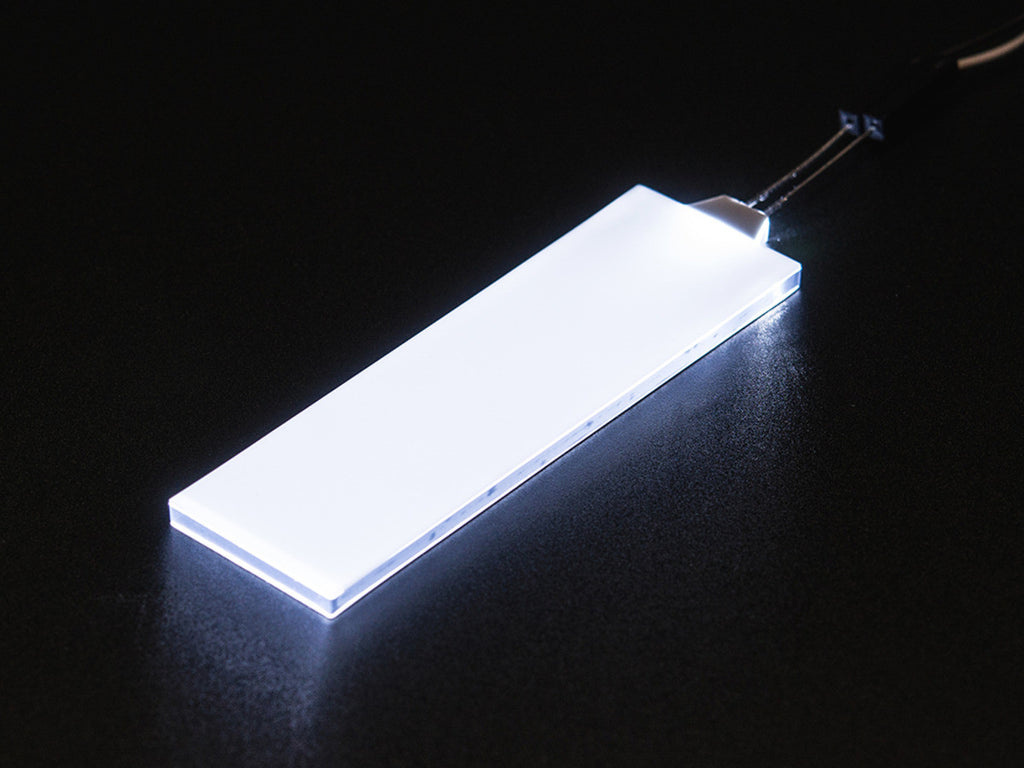 Adafruit White LED Backlight Module - Medium 23mm x 75mm