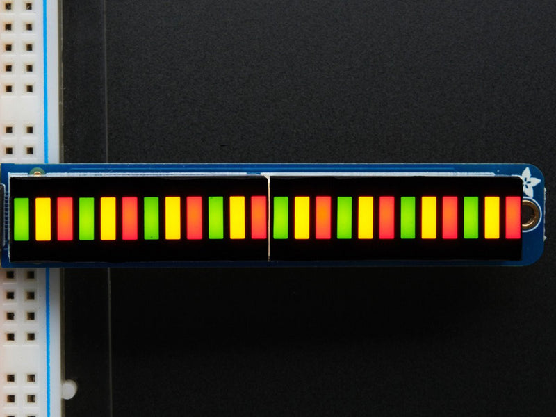 Adafruit Bi-Color (Red/Green) 24-Bar Bargraph w/I2C Backpack