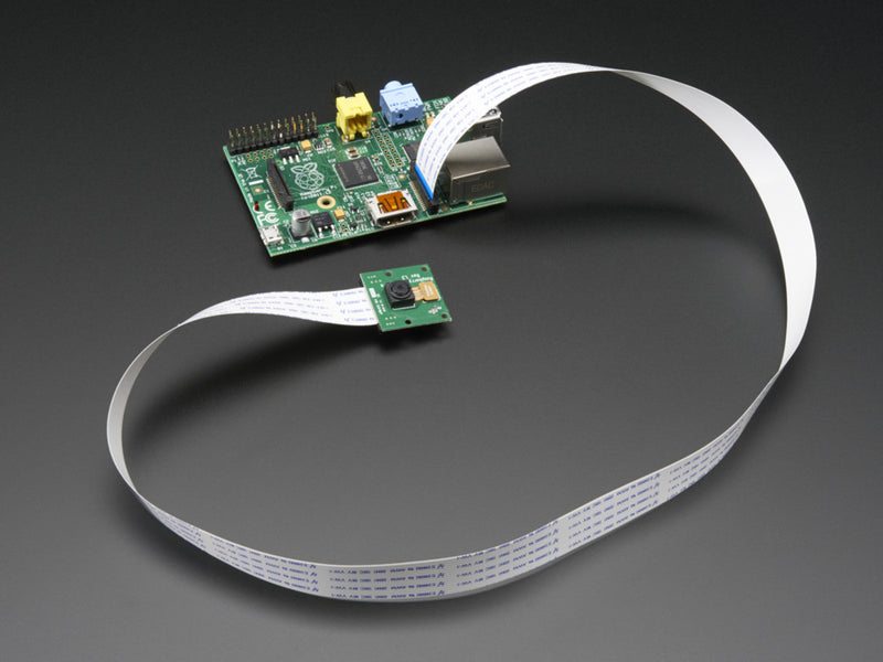 "Flex Cable for Raspberry Pi Camera - 24"" / 610mm"