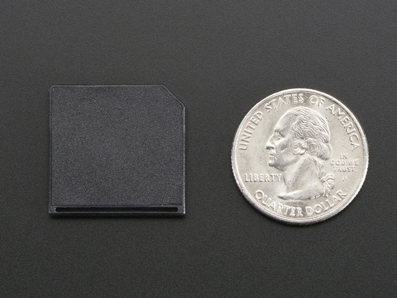 Adafruit Shortening MicroSD Adapter for Raspberry Pi & Macbooks - Multiple Colors
