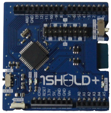 1Sheeld+: The Arduino Shield for iOS and Android