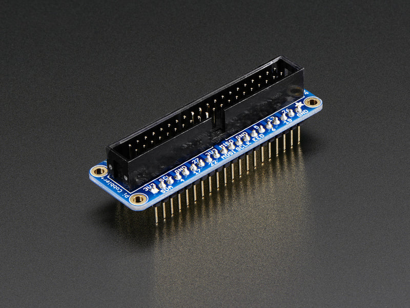Adafruit Assembled Pi Cobbler Plus - Breakout Cable for Pi B+/A+/Pi 2