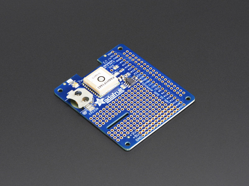 Adafruit Ultimate GPS HAT for Raspberry Pi A+ or B+ Mini Kit