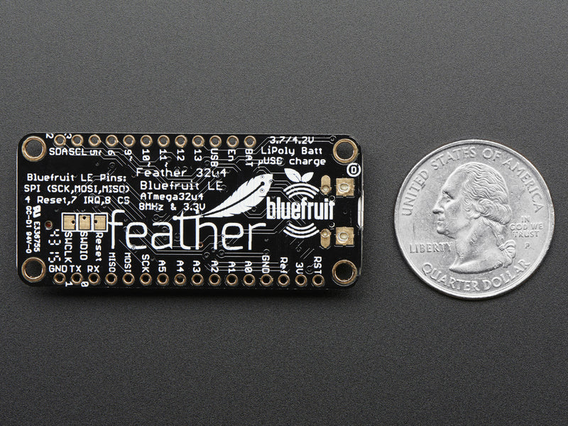 Adafruit Feather 32u4 Bluefruit LE