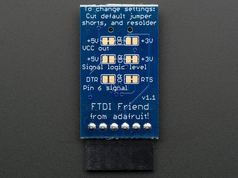 Adafruit FTDI Friend + extras - v1.0