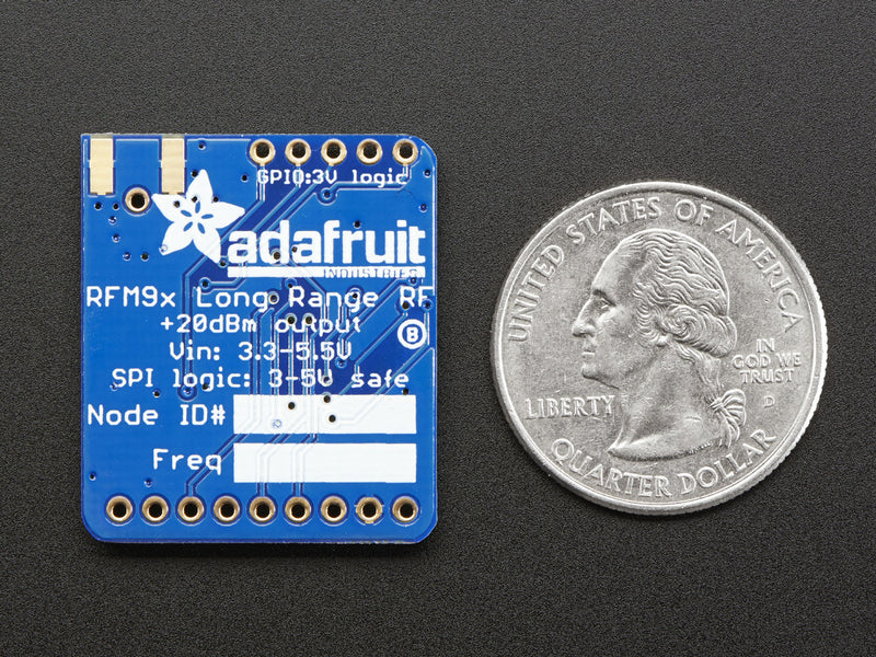 Adafruit RFM95W LoRa Transceiver Breakout - 868 or 915 MHz