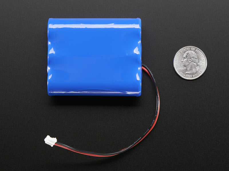Adafruit Li-Ion 3.7V Battery, 6600mAh
