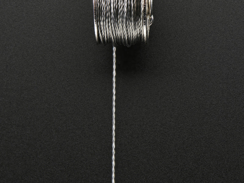 Adafruit Stainless Medium Conductive Thread - 3 ply - 18 meter/60 ft