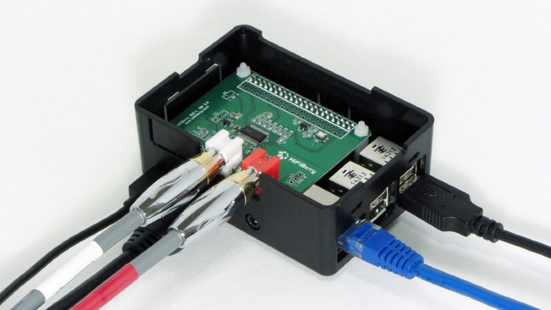 HighPi Raspberry Pi Case - Raspberry Pi2/3 and HiFiBerry