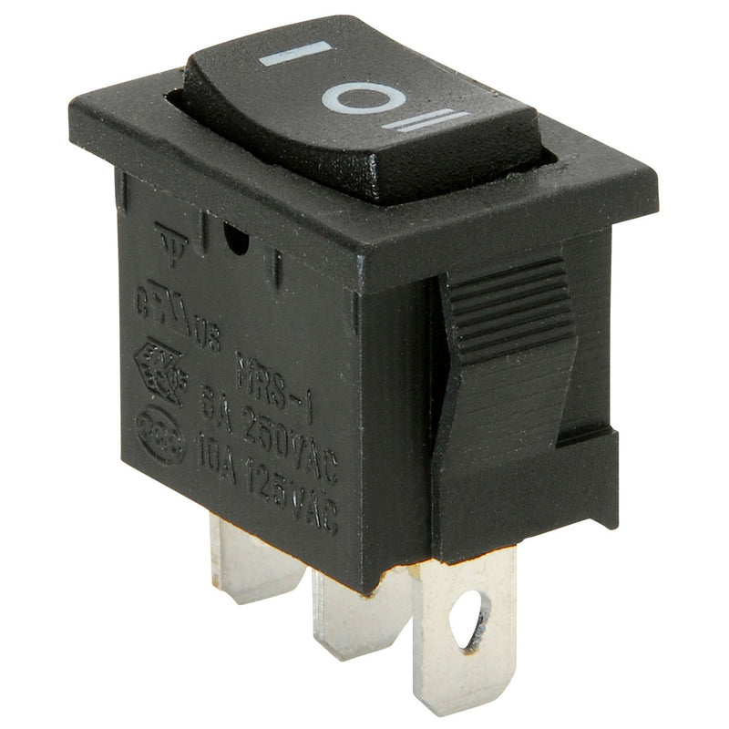 Single - Parts Express Rocker (Momentary) Switch Center Off