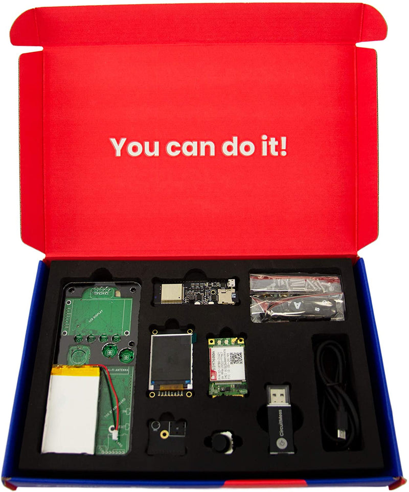 CircuitMess Ringo 4G Kit - Build Your Own Mobile Phone