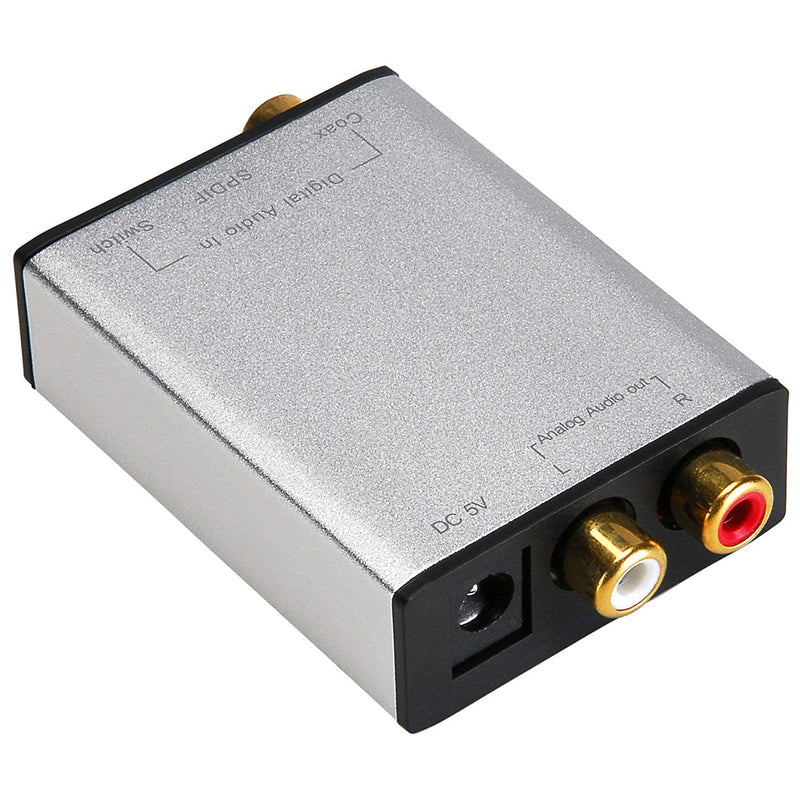 Parts Express DAC Digital to Analog Converter (5.1-Compatible)
