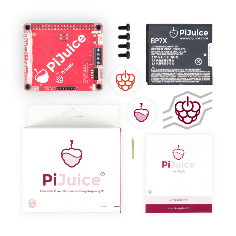PiJuice HAT Portable Power Platform For Raspberry Pi